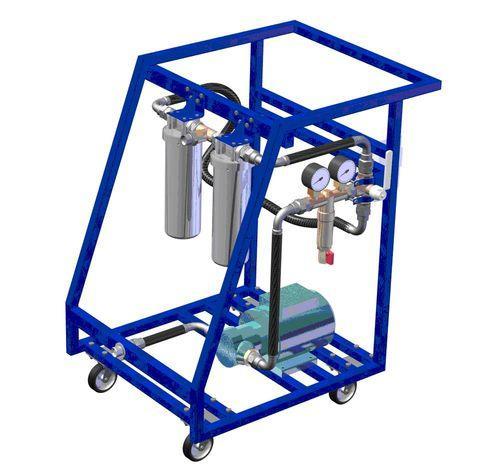 МФС-500-70 малогабаритные фильтрующие системы для масла