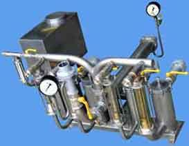 УСЖ-01 установка для смешивания и растворения жидкостей в потоке марки