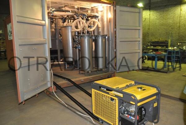 Установка переработки жидких буровых шламов и буровых растворов УПБШ-10Г/УПБШ-10ГД