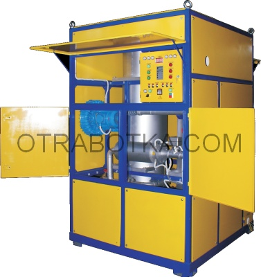 Установка Суховей 4 для создания защитной атмосферы и осушки твердой изоляции трансформаторов горячим сухим воздухом