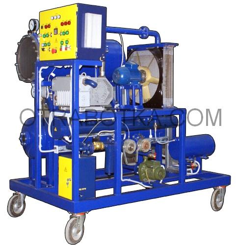 Установки восстановления характеристик промышленных масел (трансформаторных, индустриальных, турбинных, компрессорных, гидравлических и др.) серии МОСт