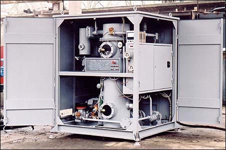 УВМ-6 установки для обработки трансформаторного масла (турбинного, индустриального)