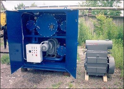ИНЕЙ-4 установки подсушки твёрдой изоляции силовых трансформаторов