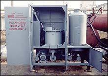 МЦУ-2 маслоочистительные установки-нагреватели