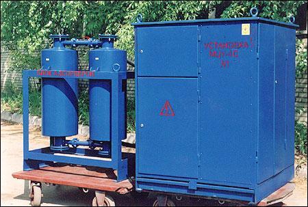 МЦУ-4С маслоочистительные установки-нагреватели
