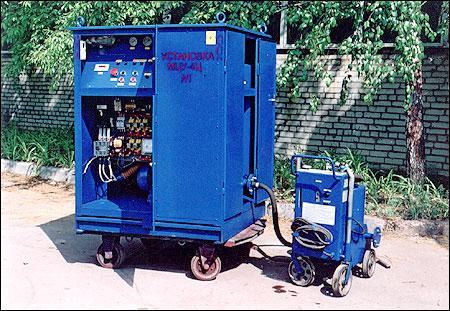 МЦУ-4Ц маслоочистительные установки-нагреватели