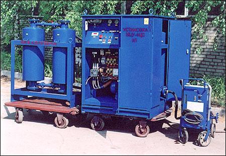 МЦУ-4ЦС маслоочистительные установки-нагреватели