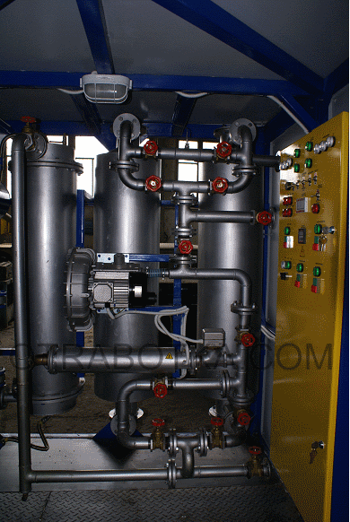 Комплексная ремонтная система для регенерации трансформаторных масел, осушки воздуха и твёрдой изоляции трансформаторов Ремблок TRM 3000